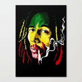 the legend Canvas Print