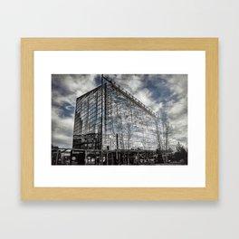 Baltimore [Sky cut 448] Maryland, Usa Framed Art Print