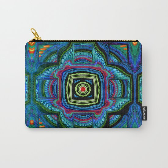 Groovy modern abstract  Carry-All Pouch