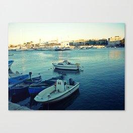 A smooth sea never made a skilled sailor. Canvas Print