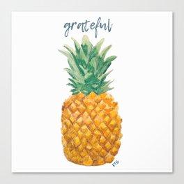 Grateful Canvas Print
