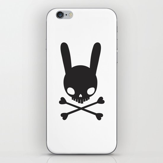 SKULL BUNNY OF PIRATES iPhone & iPod Skin