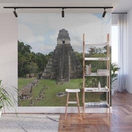 Tikal Mayan Ruins Guatemala Wall Mural