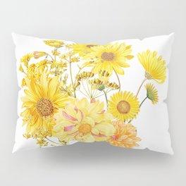 Vintage & Shabby Chic - Late Summer Flowers Pillow Sham