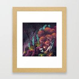 Curious Company Framed Art Print