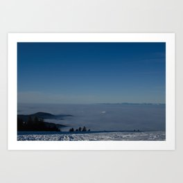Black Forest Sunrise - Landscape Photography Art Print