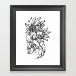 Affection Framed Art Print