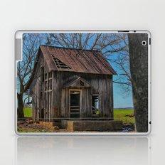 Little house on the prairie cabin Laptop & iPad Skin