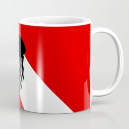 Diving Flag: Jellyfish Coffee Mug