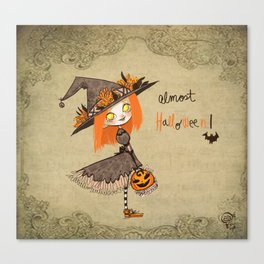 Almost Halloween!!!! Canvas Print