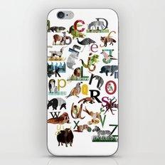 Animal ABC iPhone & iPod Skin