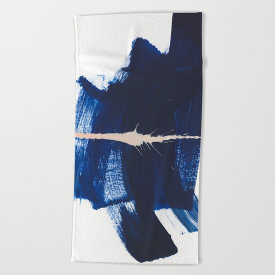 brush strokes 4 Beach Towel