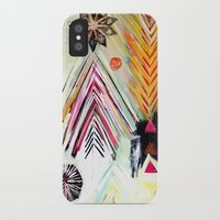 """flora bowley iPhone & iPod Cases featuring """"True North"""" Original Painting by Flora Bowley by Flora Bowley"""