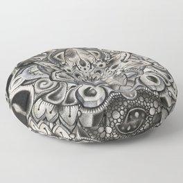Helmet Head: Polluted Beauty Floor Pillow