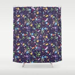 Rainbow Jelly Shower Curtain