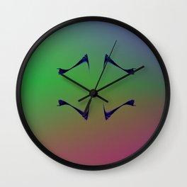 Mirror Image Wall Clock