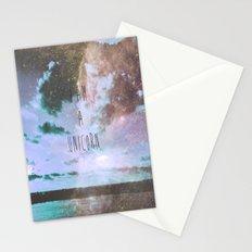 unicorn tears Stationery Cards