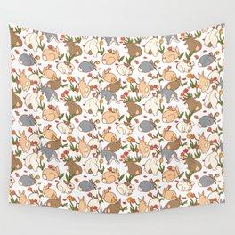Bunny Infestation Wall Tapestry
