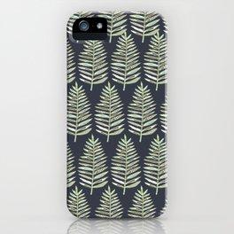 Fern Repeat iPhone Case