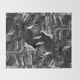 Post-Modern Industrial Complex:  The Art of Regressing Throw Blanket