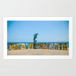 Puerto Vallarta Mexico Art Print