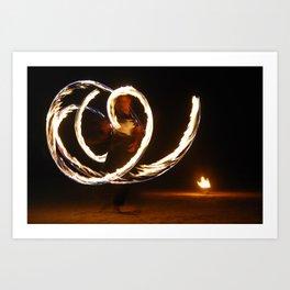 Fireflight Art Print