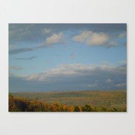 Finger Lakes Palette Canvas Print