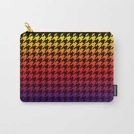 Houndstooth Sundown Carry-All Pouch