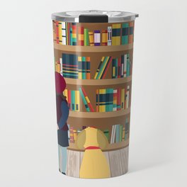 Take a book to kennel Travel Mug