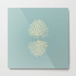 Tree Art. Hands Giving, Hands Receiving 111-24CW5 Metal Print