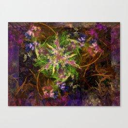 Fractal Floria Canvas Print