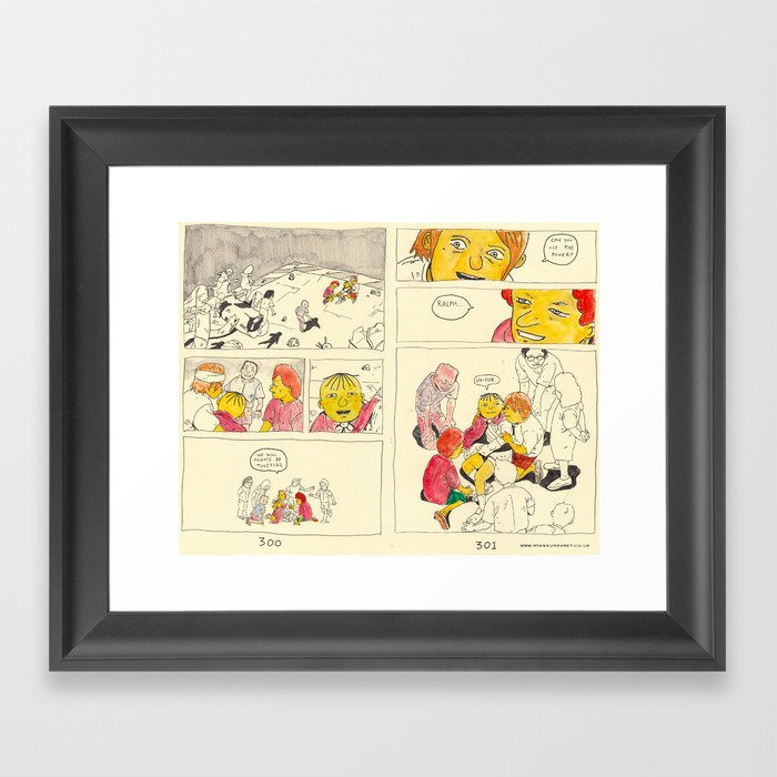 bartkira 3 Framed Art Print