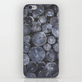 Firewood iPhone Skin