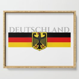 Deutschland ...German Flag and Eagle Serving Tray