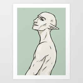 Solas / In-Game Version Art Print