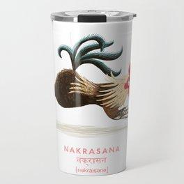 Nakrasana Chicken Yoga Travel Mug