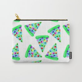 Teal Rainbow Pizza! Carry-All Pouch