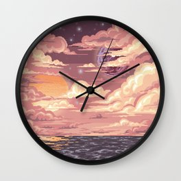 moon and sun Wall Clock
