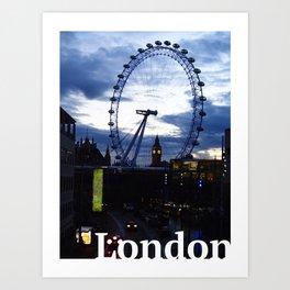 I still love you London! Art Print
