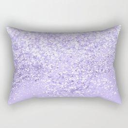 Lavender Glitter Dream #1 #shiny #decor #art #society6 Rectangular Pillow