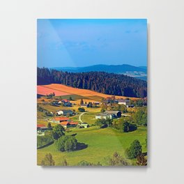 Beautiful springtime scenery Metal Print