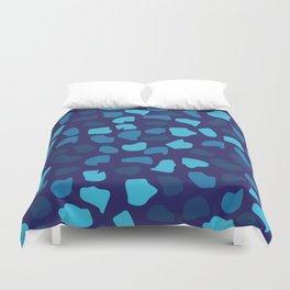 Blue Stones Duvet Cover