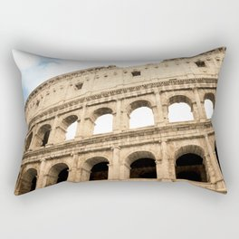 The Colosseum, Rome, Italy. Rectangular Pillow
