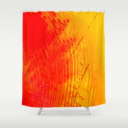 when they met ? Shower Curtain