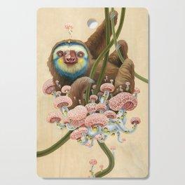Silly Sloth Cutting Board