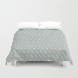 Practically Perfect - Penis in Blue Duvet Cover