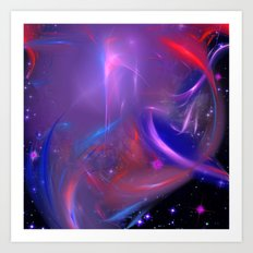 Cosmic Twister Art Print