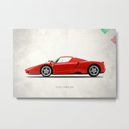 The Enzo Metal Print