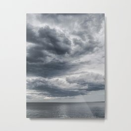 Storm Clouds Rolling In Metal Print