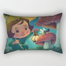 Sleepy Faerie Rectangular Pillow